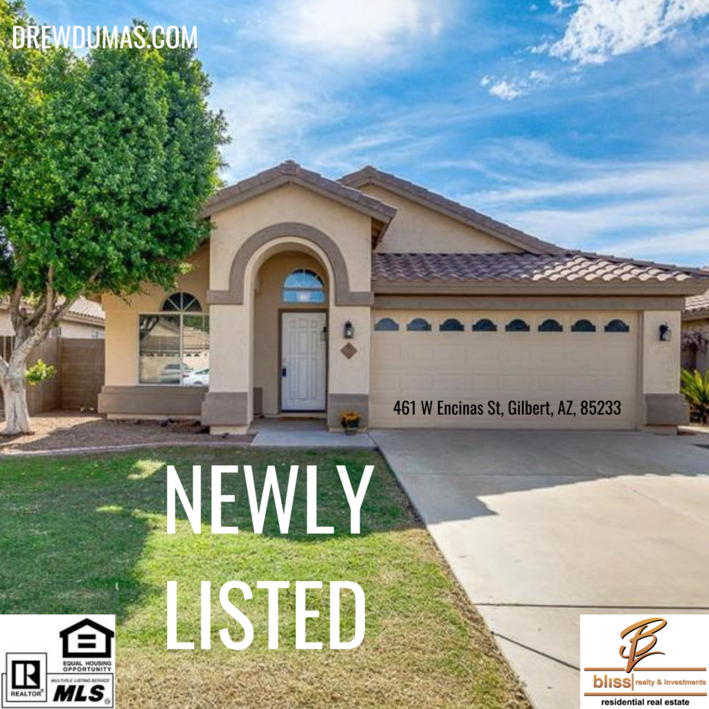 Gilbert, AZ fix and flip propert listed by Drew Dumas Realtor